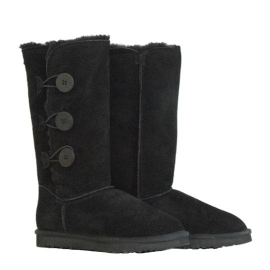 Μαυρο δερμάτινο Australian Boot 5836 Tall