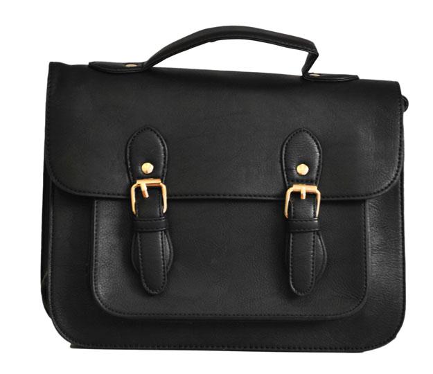 Μαύρη τσάντα ταχυδρόμος Beiyani 13173