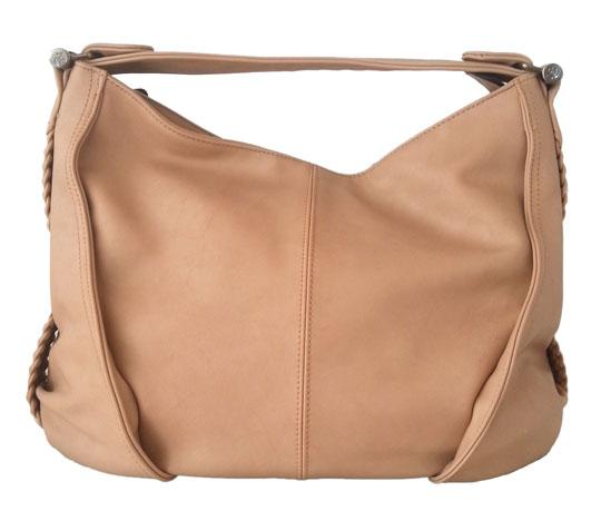 Γυναικεία τσάντα ώμου Nanucci 7628 Μπέζ