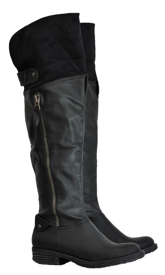 Μαύρη μπότα Rax Max BT11561