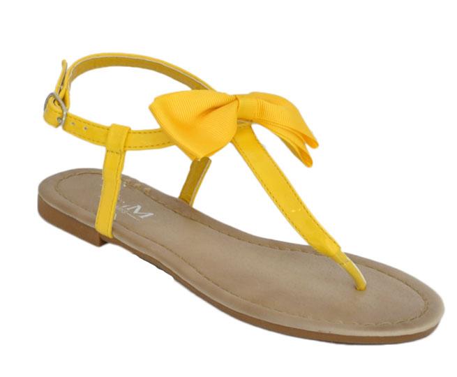 Γυναικείο σανδάλι CM Paris H018 Κίτρινο