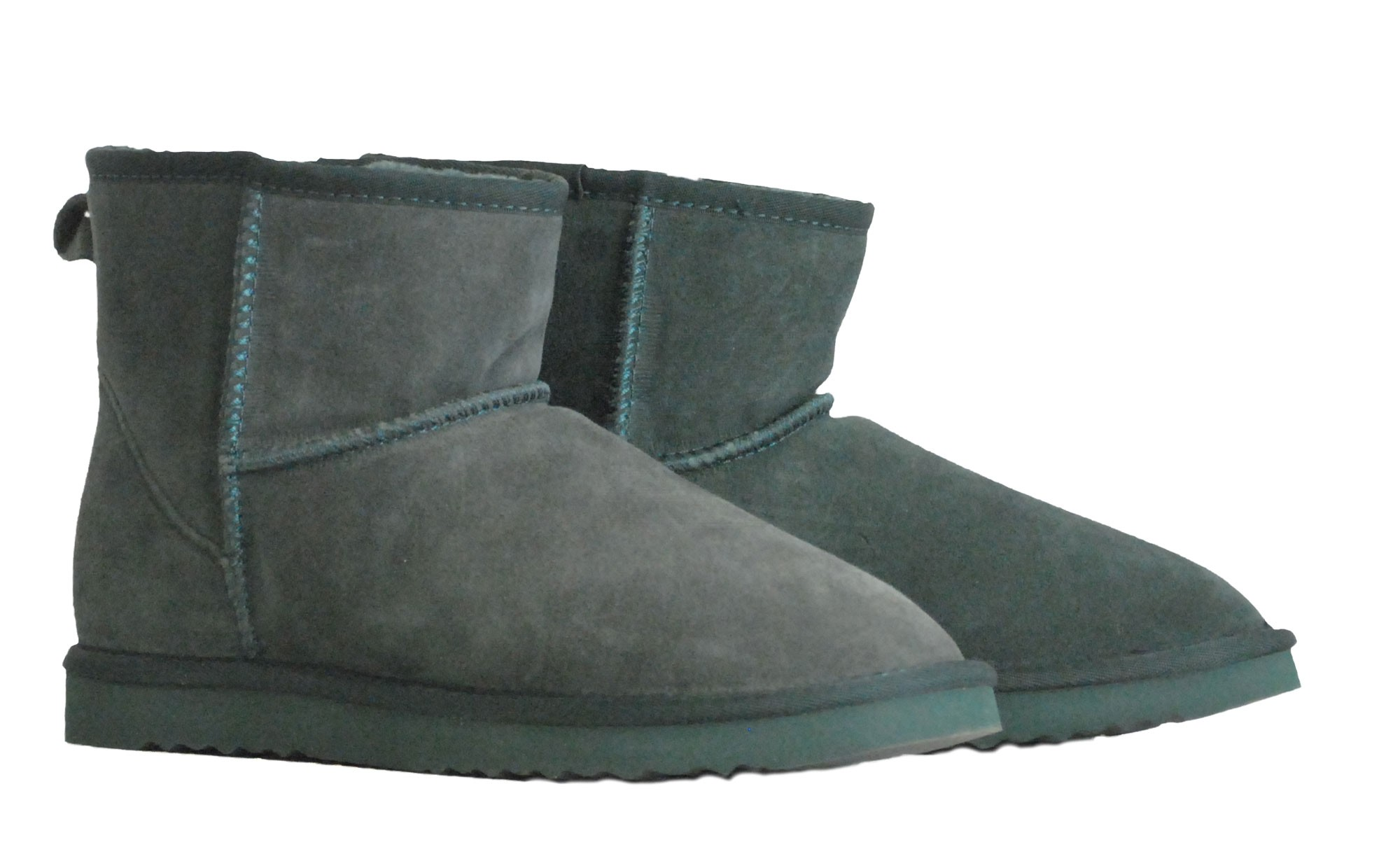 Πράσινο δερμάτινο Australian Boot 5854 Short