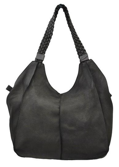 Γκρι τσάντα ώμου 7740-3