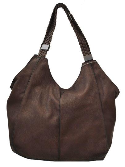 Καφέ τσάντα ώμου 7740-3
