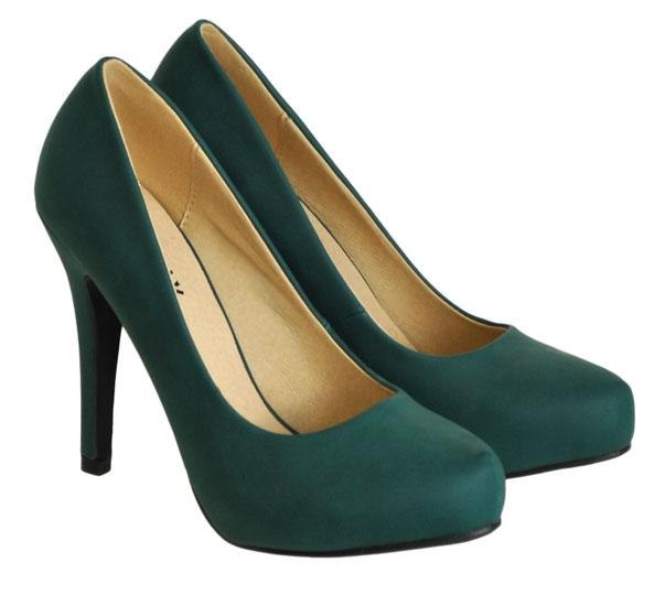 Πράσινη γόβα Exquily SQ5622