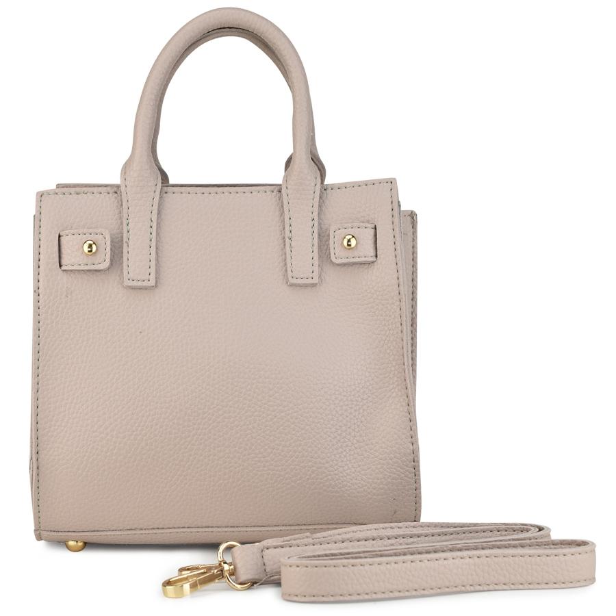 Μπεζ τσάντα ώμου 17100