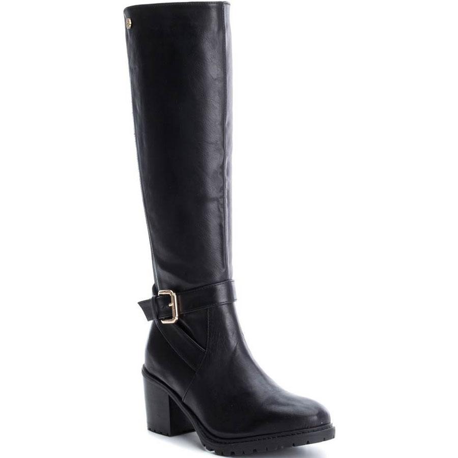 Μαύρη μπότα με τακούνι Xti 47369