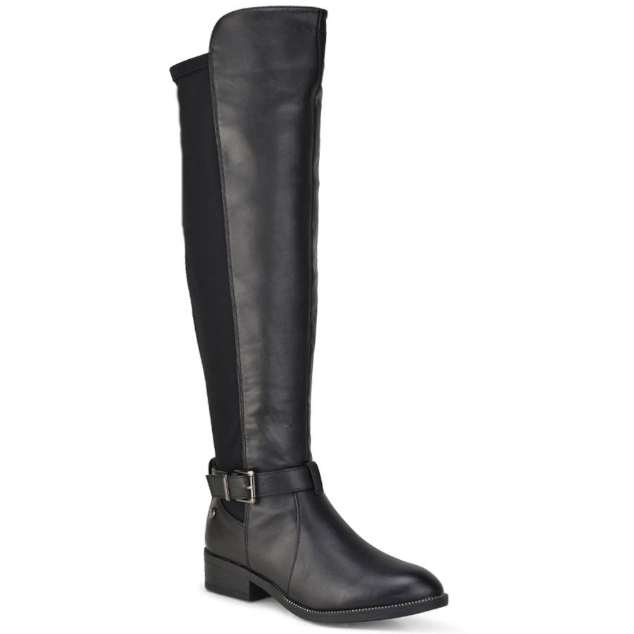 Μαύρη μπότα Xti 48440