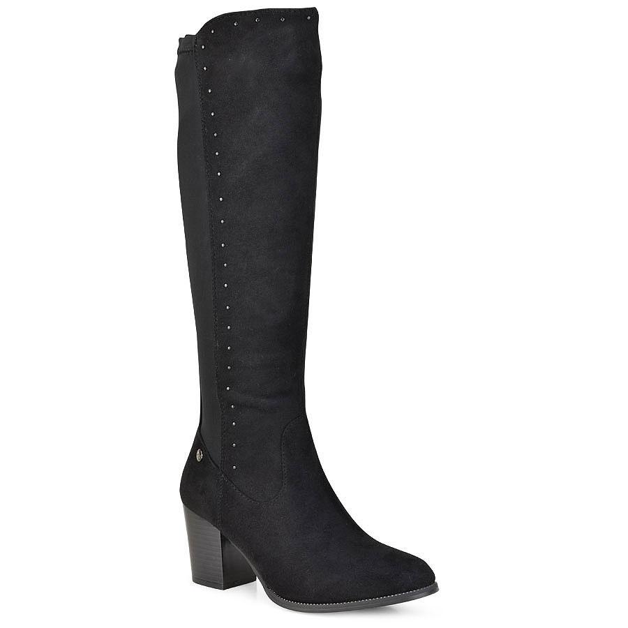 Μαύρη μπότα με τακούνι Xti 48599