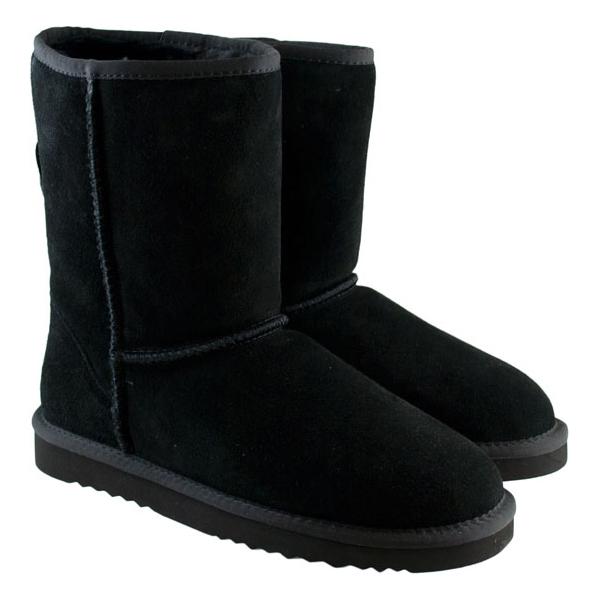Μαυρο δερμάτινο Australian Boot 5830 Classic