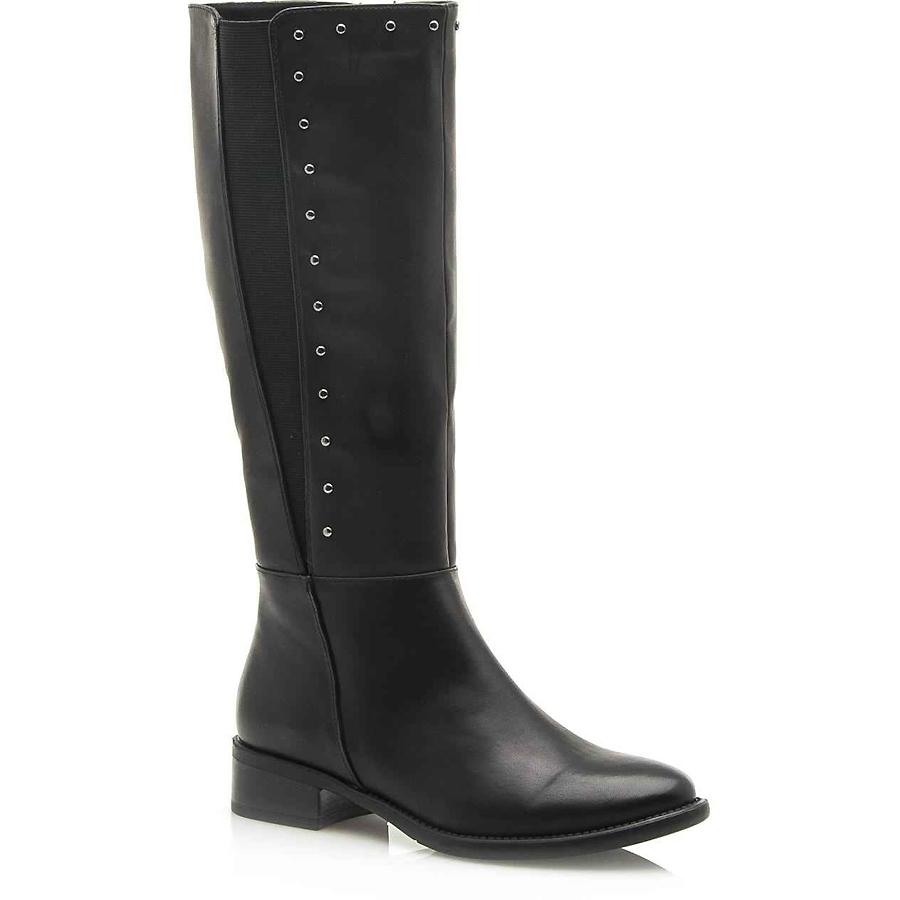 -50% Izyshoes Μαύρη μπότα με τρουκς MariaMare 62315 758859eb61a