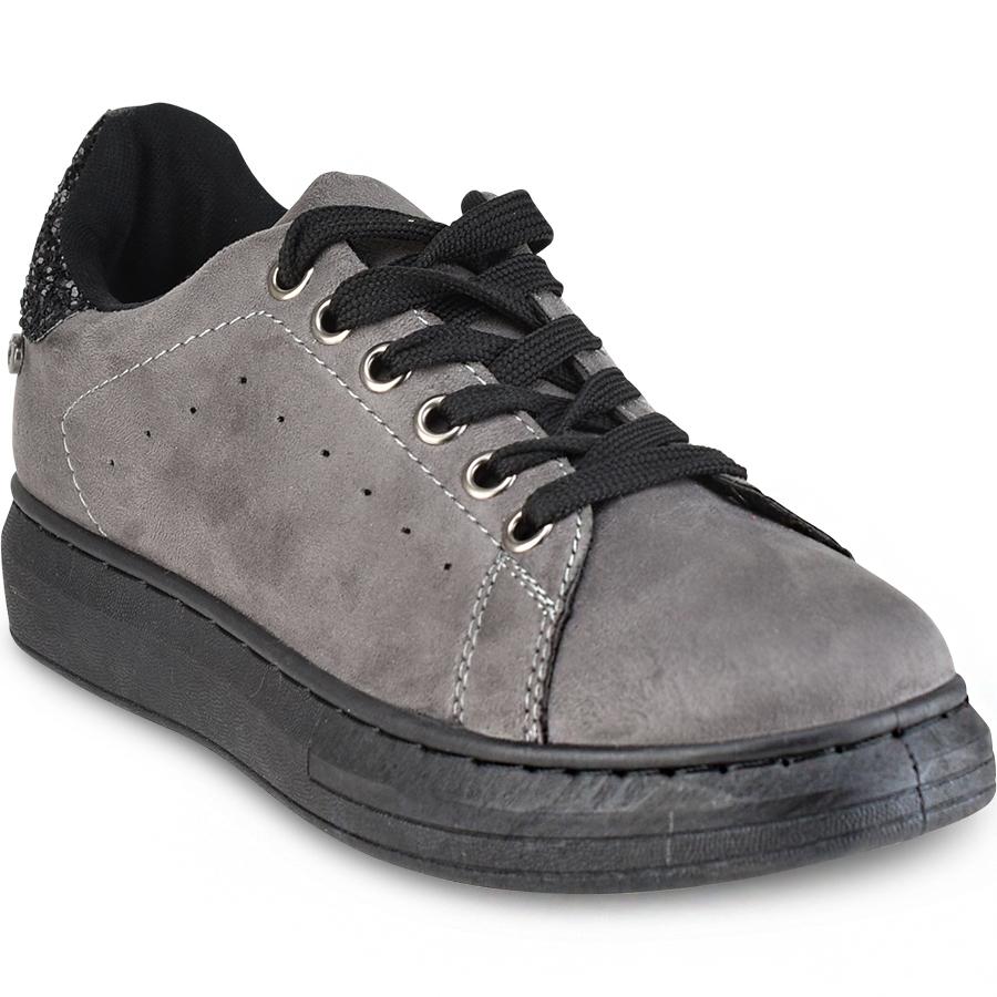 Γκρι sneakers Isteria 7306