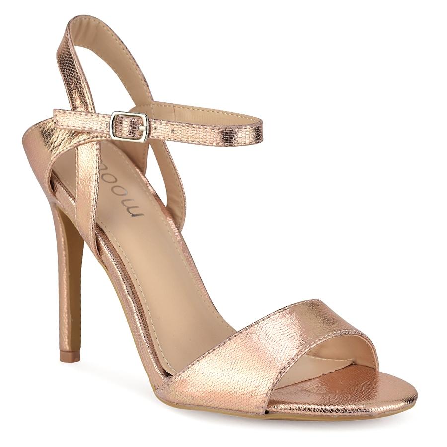 Ροζ χρυσό πέδιλο SG7671