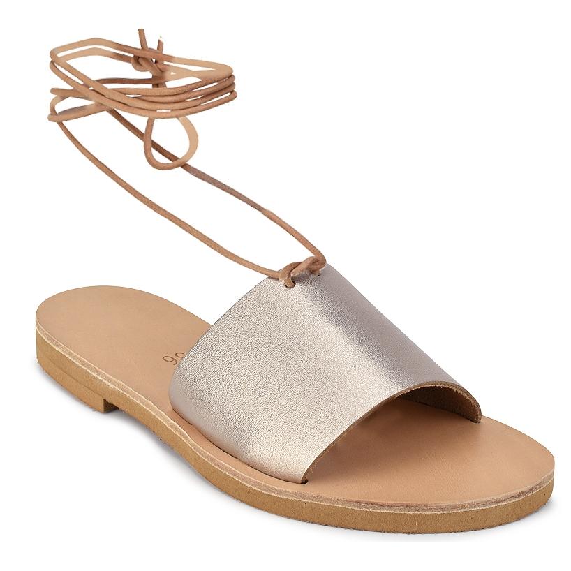 Δερμάτινο μεταλλικό σανδάλι Iris Sandals IR8/17