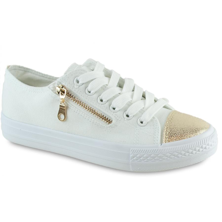 Λευκά sneakers 85 -183