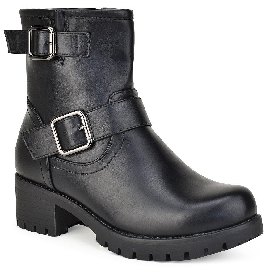 Mαύρο biker boot 85-30