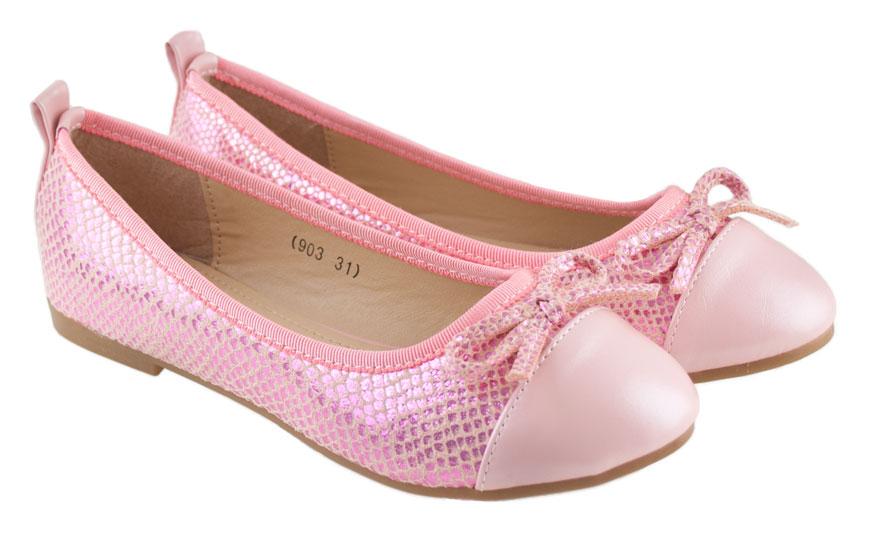 Ροζ παιδική μπαλαρίνα Doremi 903
