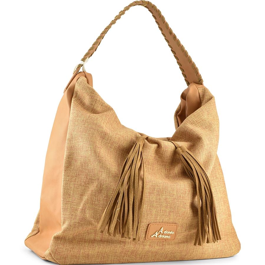 Καμελ τσάντα ώμου Adonio Adriano AD128