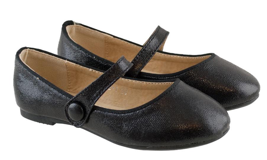 Μαύρη παιδική μπαλαρίνα Chochoula 3752
