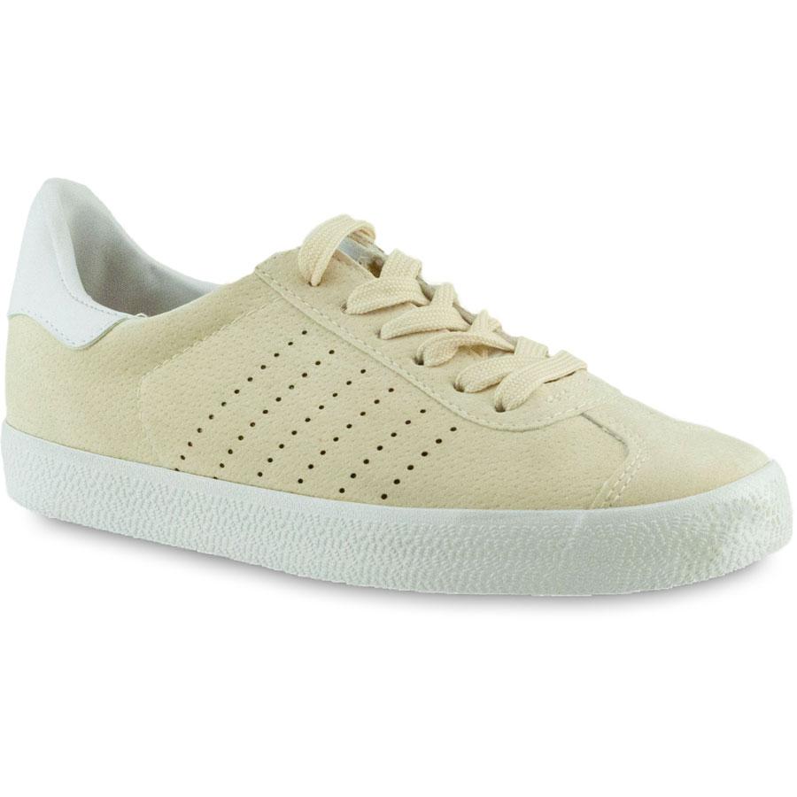 Μπεζ σουεντ sneakers Exquily BK303