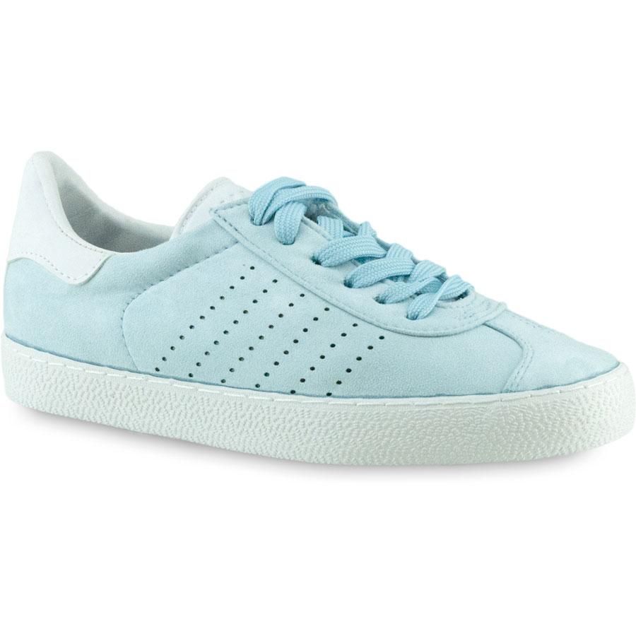 Γαλάζια σουεντ sneakers Exquily BK303