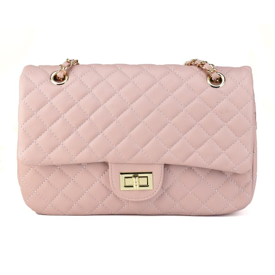 d5599ca01d Ροζ τσάντα ώμου David Jones CM3791