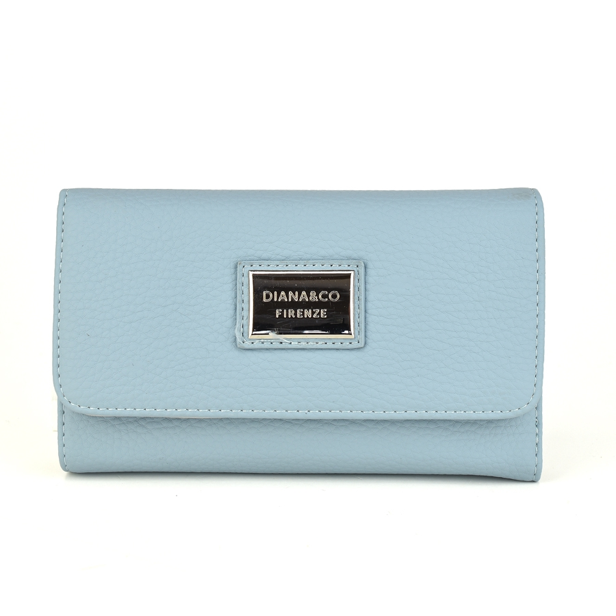 Γαλάζιο πορτοφόλι Diana & Co. DFX1391-3