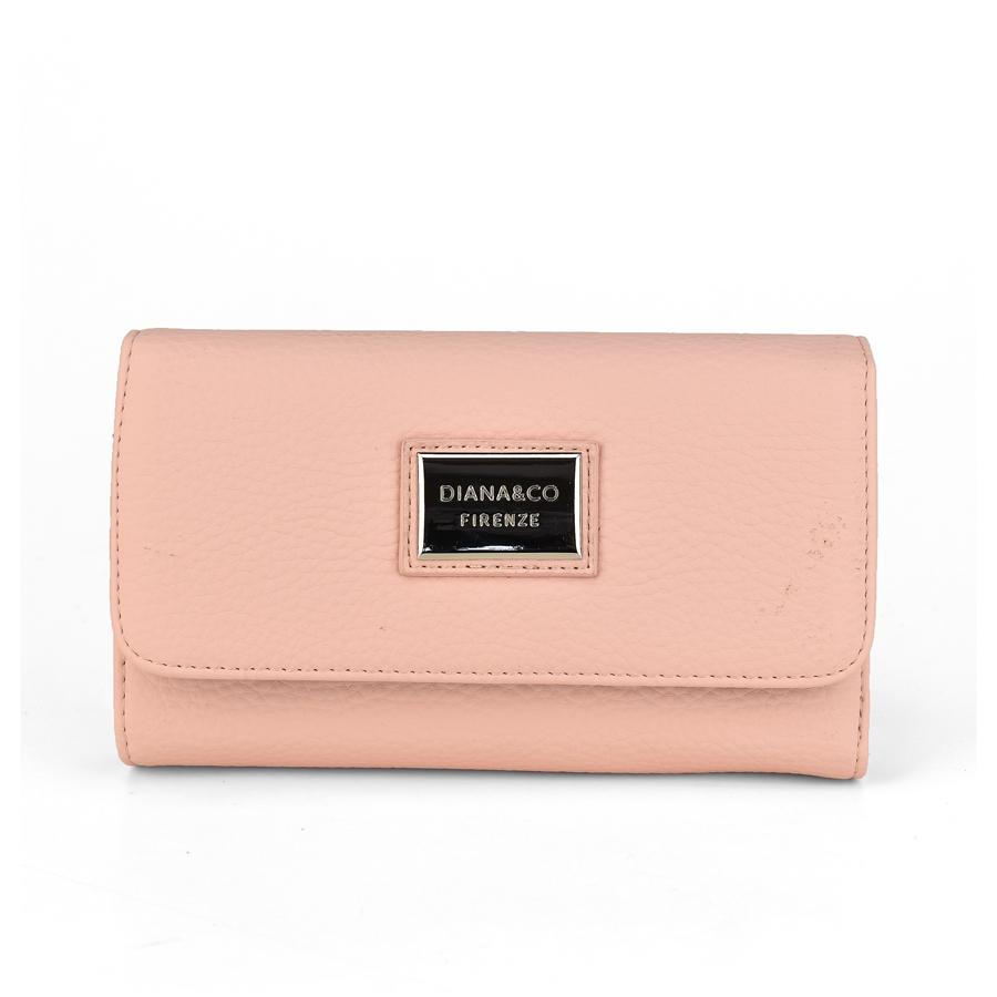 Ροζ πορτοφόλι Diana & Co. DFX1391-3