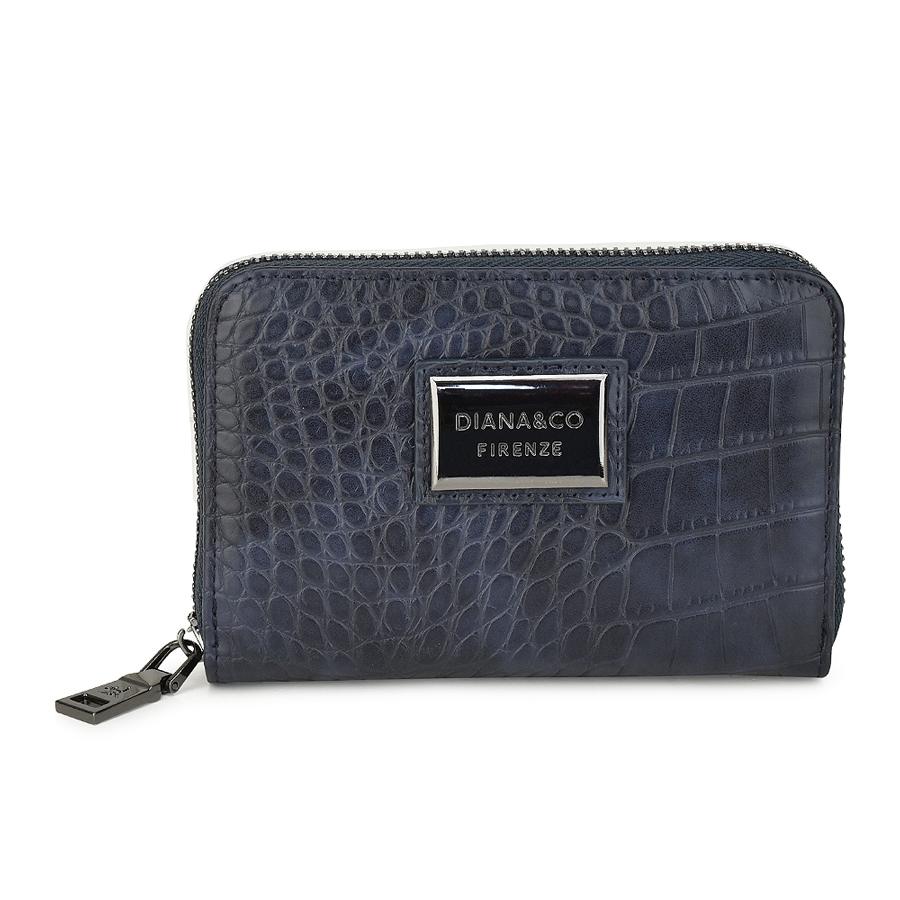 Μπλε πορτοφόλι Diana & Co. DFX987-1
