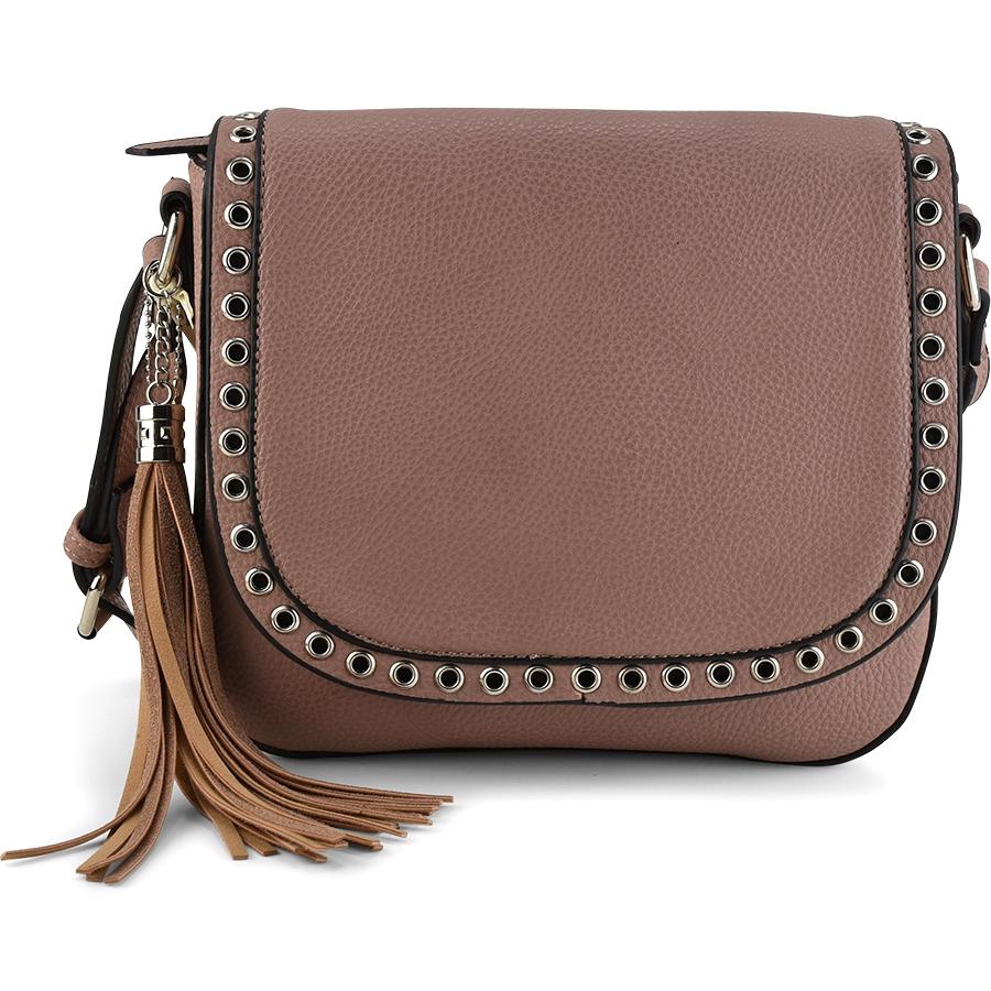 Ροζ τσάντα ταχυδρόμου Diana & Co DJX230-1