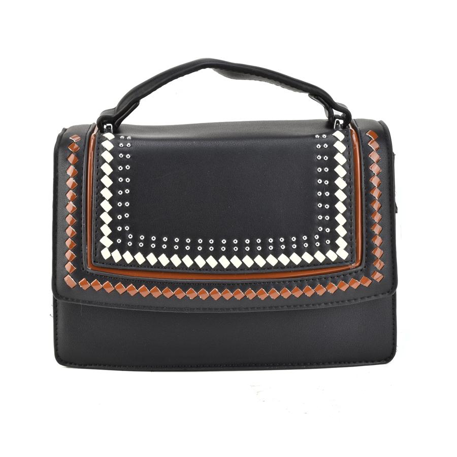 Μαύρη τσάντα ταχυδρόμου 2918 86aae08ccdf