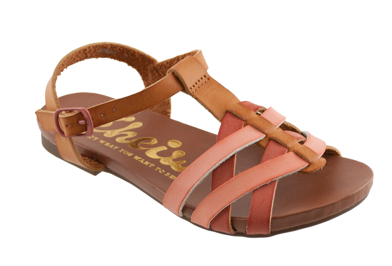 Ροζ παιδικό σανδάλι Cheiw 45650