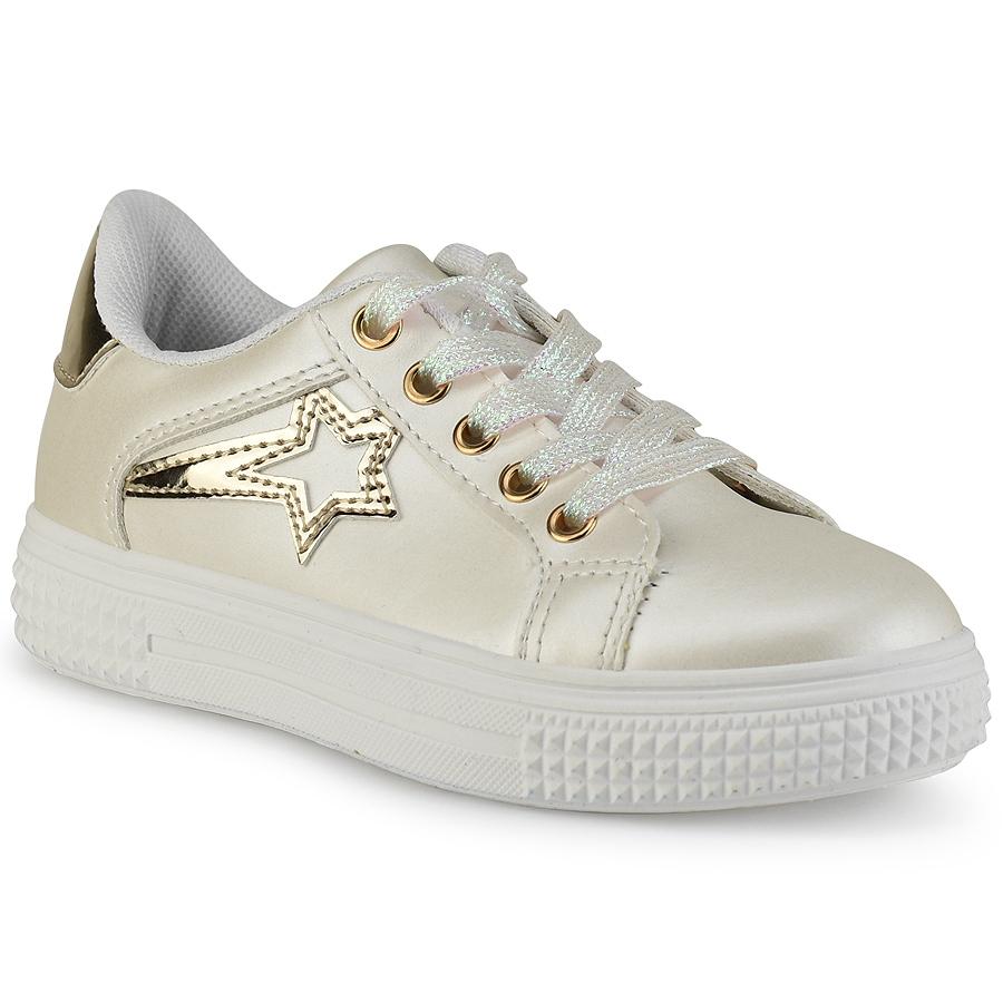 Ιβουάρ παιδικό sneakers E22-72