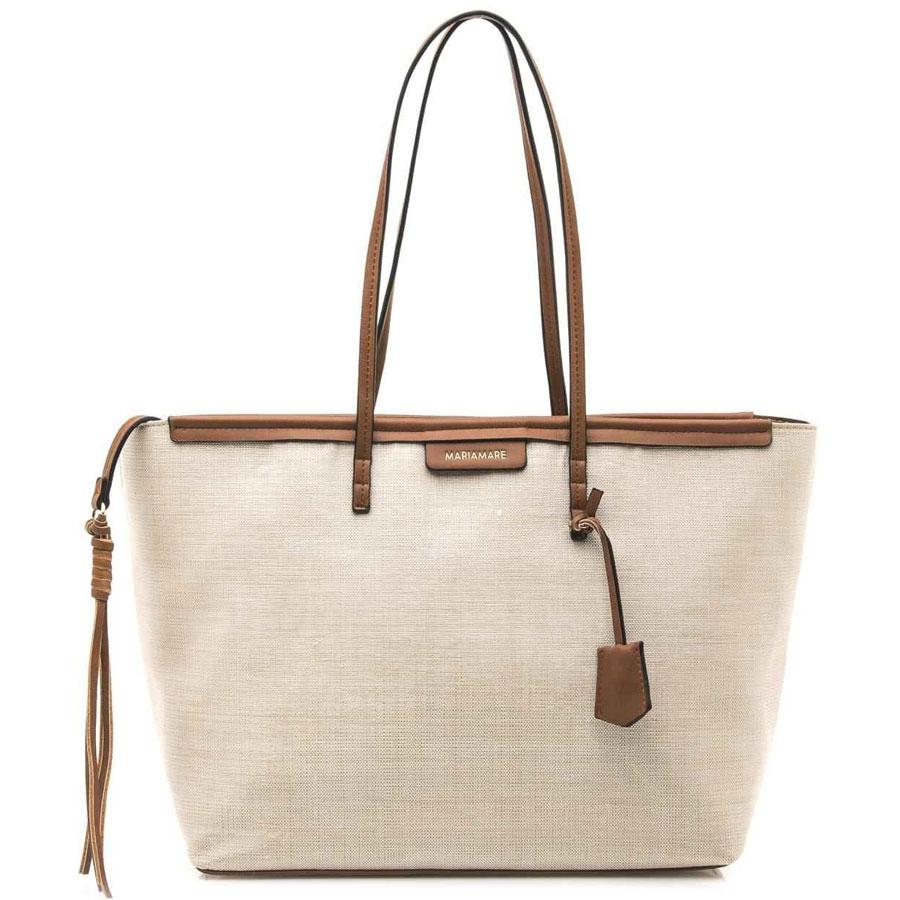 Μπεζ τσάντα ώμου MariaMare Eider fda62238750