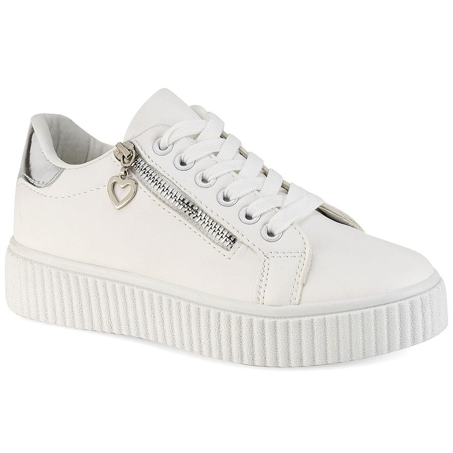 Λευκό Ασημί sneakers F37-1 264cbdbfc82