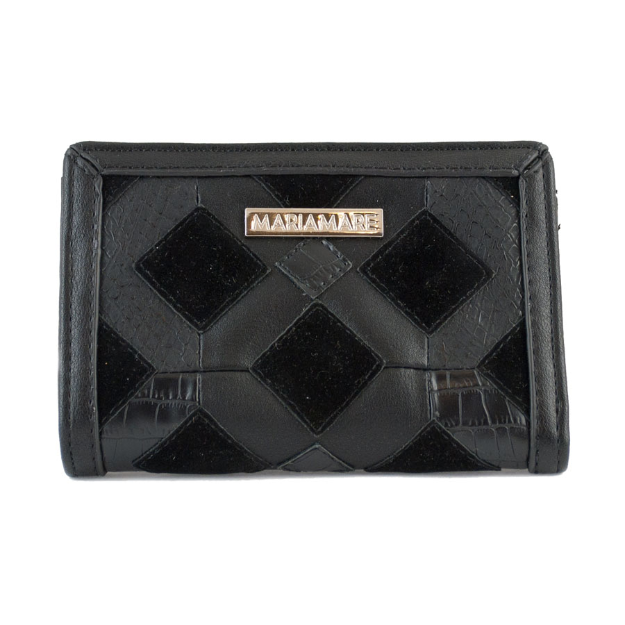 Μαύρο πορτοφόλι MariaMare Fanny