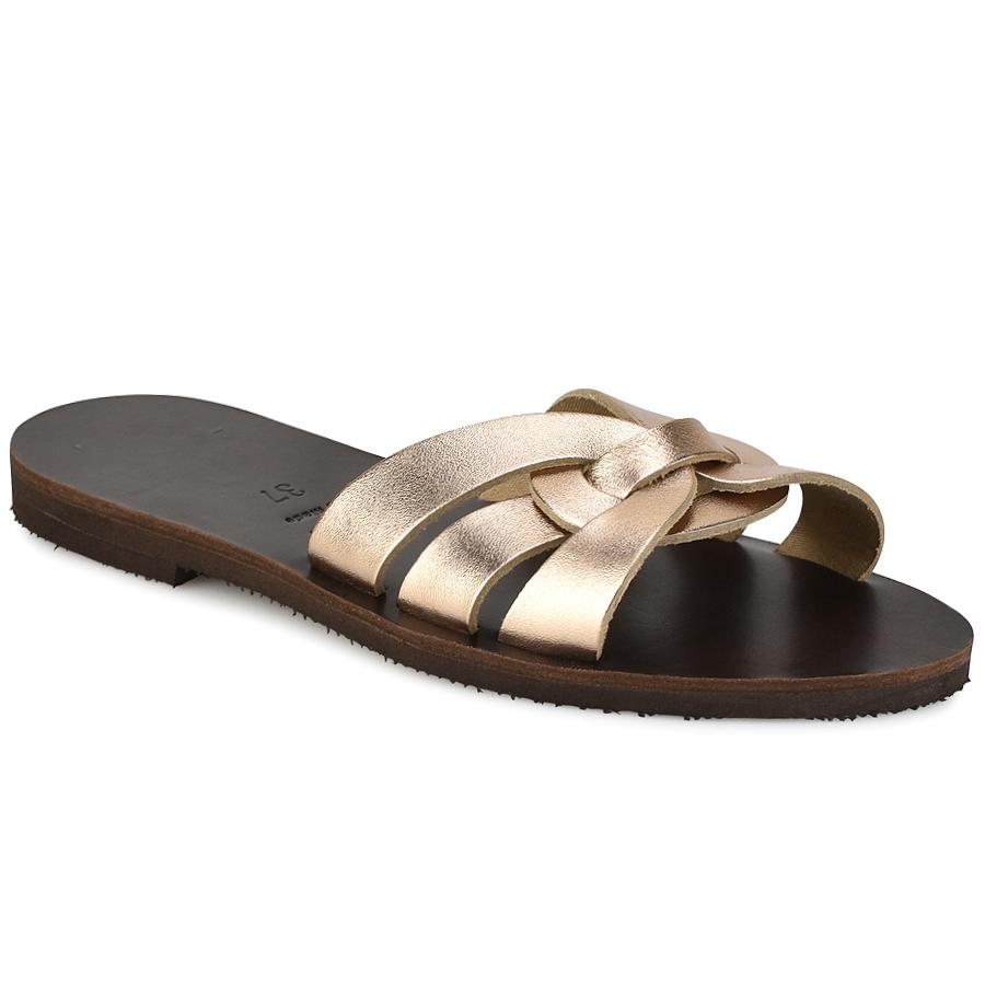 Δερμάτινη μόκα σαγιονάρα Iris Sandals IR9/3