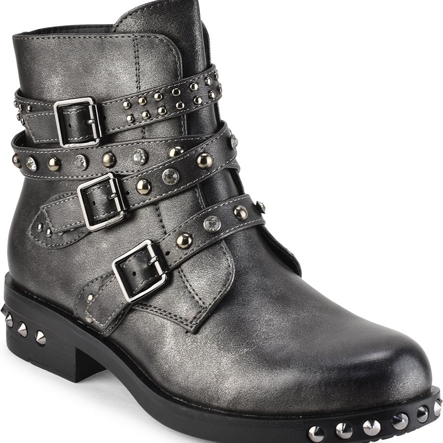 Μολυβί biker boots με τρουκς La Bottine Souriante LBS2957