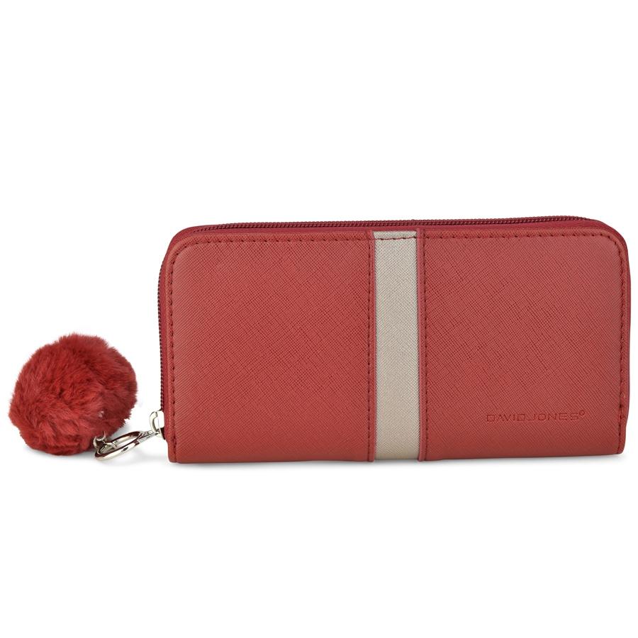 Κόκκινο πορτοφόλι David Jones P065-510