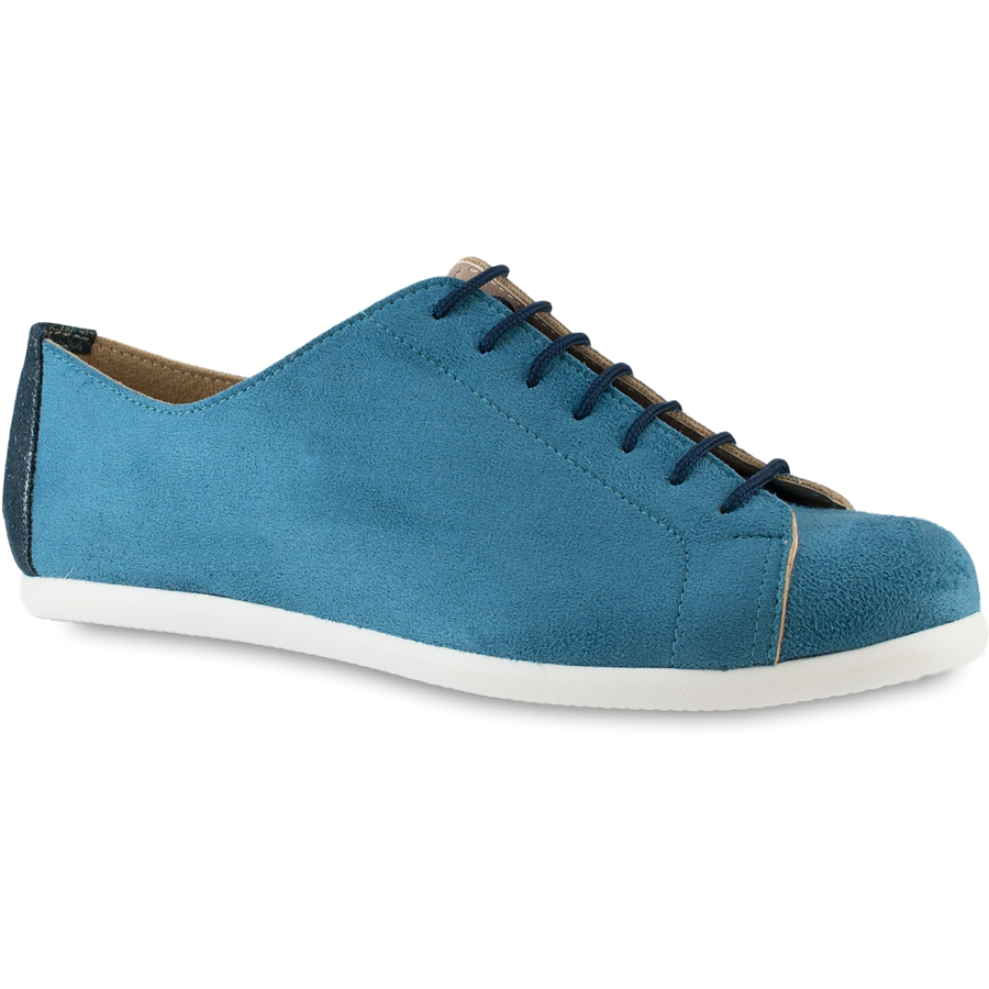 Jeans σουεντ sneakers IzyShoes PS215