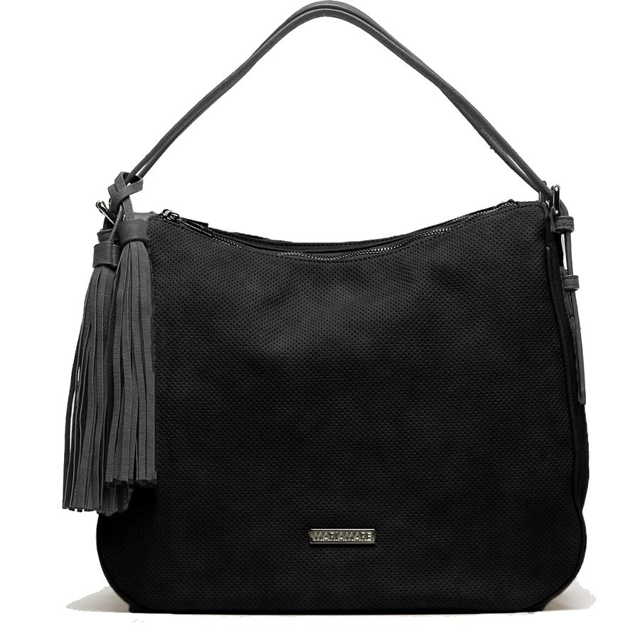 Μαύρη τσάντα ώμου MariaMare SEFI e961f91b697