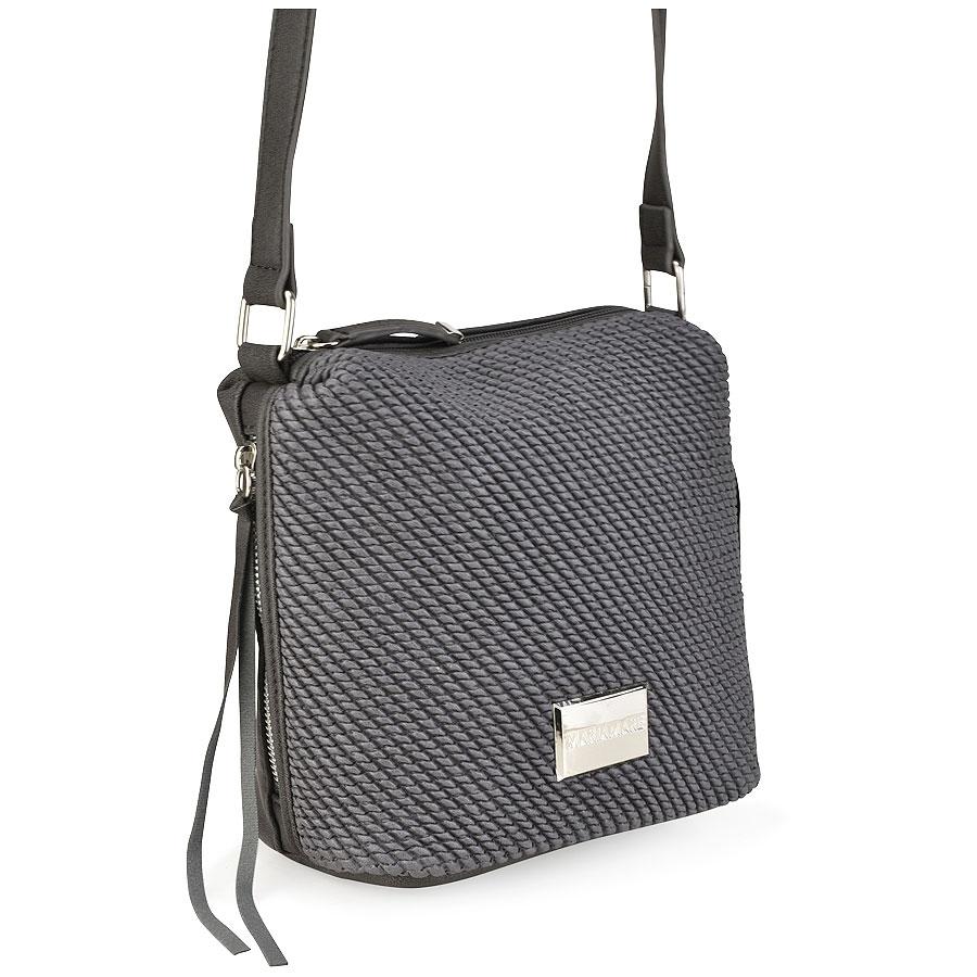 Γκρι τσάντα ταχυδρόμου MariaMare TEODORA d5034e905dc