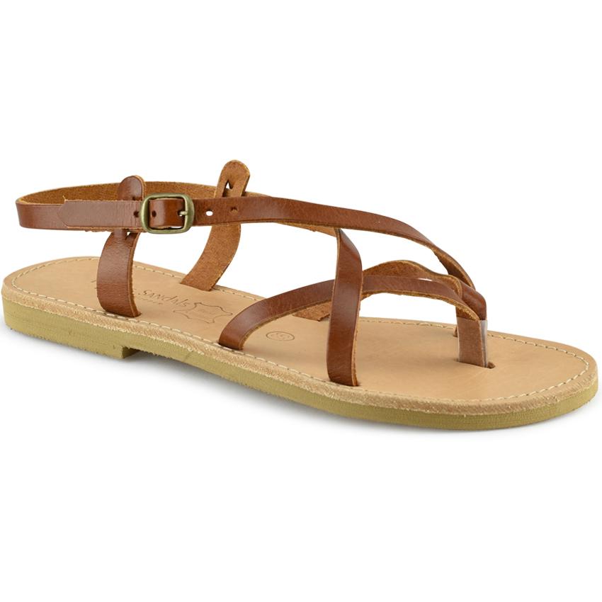 Δερμάτινο ταμπα σανδάλι Tsakiris Sandals TS02