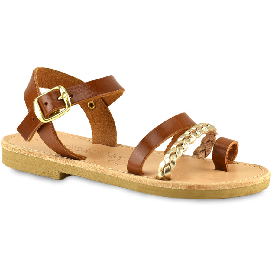 Δερμάτινο ταμπα παιδικό σανδάλι Tsakiris Sandals TSP617