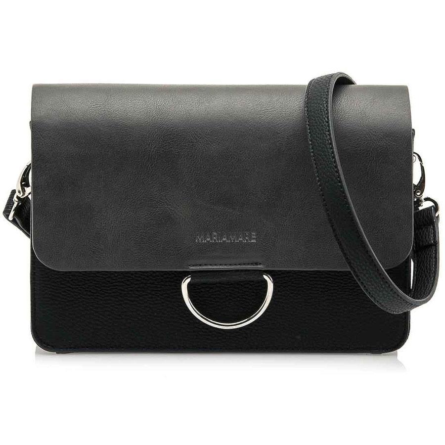 883de11e41 Μαύρη τσάντα ταχυδρόμου MariaMare VENUS