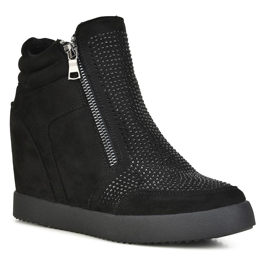560ff86ad42 Μαύρο sneaker με κρυφό τακούνι Y219, Γυναικεία sneakers, ΓΥΝΑΙΚΑ ...